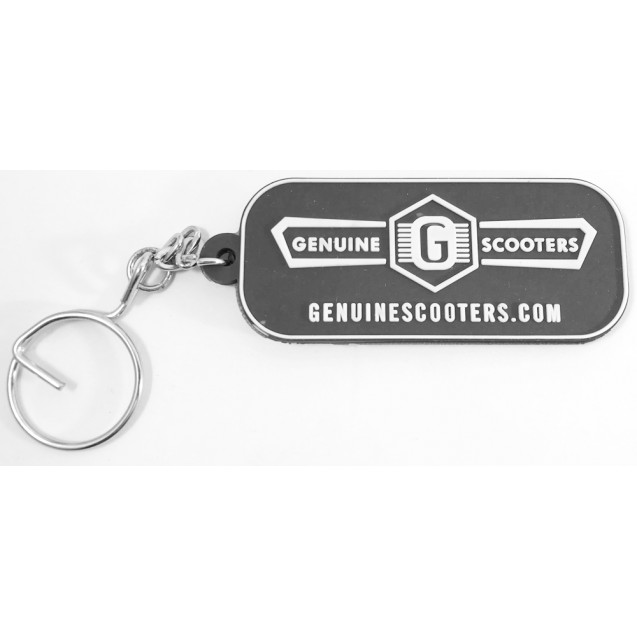 Key Chain- Black- Genuine