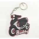 Key Chain- Buddy- Red