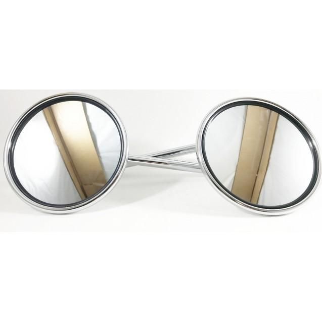 Mirror Set- Short- Chrome- Buddy 50/Buddy 125/ Buddy 150/Buddy 170i