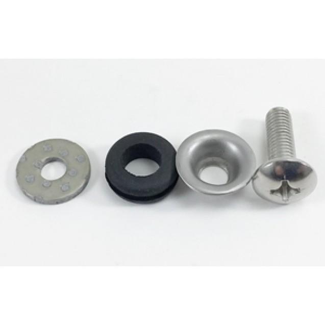 Heat Shield Hardware Kit- Buddy 50/Buddy 125/Buddy 150/Buddy 170i/Roughhouse 50/Blur 220